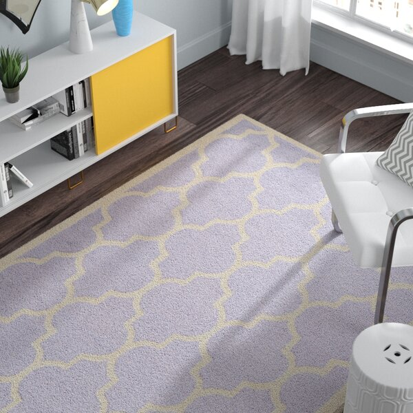 Charlenne Lavender/Ivory Area Rug by Zipcode Design
