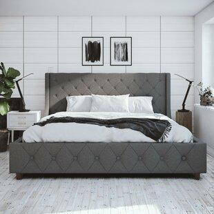 Mercer Upholstered Platform Bed by CosmoLiving Cosmopolitan