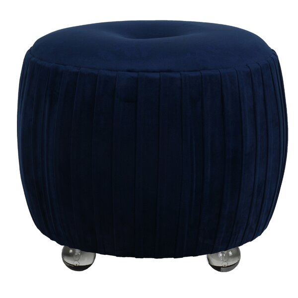 Jost Round Tufted Ottoman by Mercer41