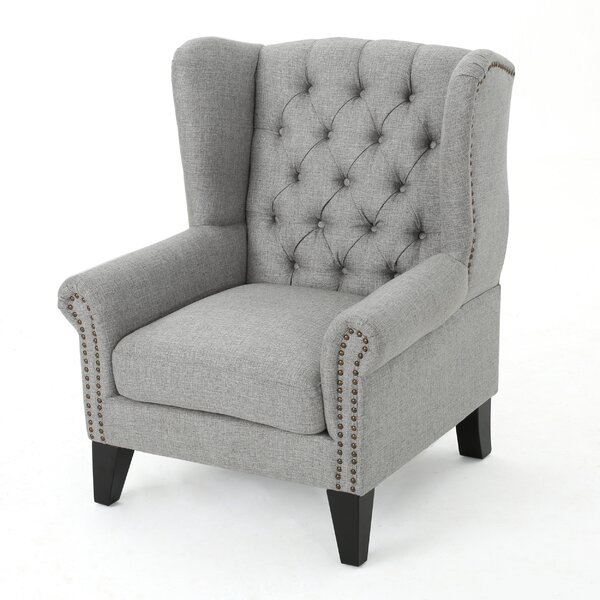 Golf Wingback Chair by Alcott Hill