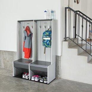 Home Storage 1 Tier 2 Wide Locker