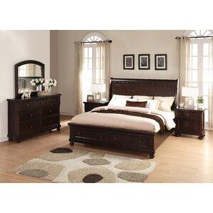 Brishland Platform 5 Piece Bedroom Set by Roundhill Furniture