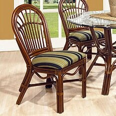 Amarillo Patio Dining Chair by Boca Rattan
