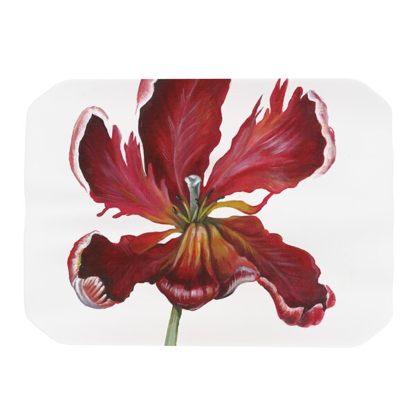 Open Tulip Placemat by KESS InHouse