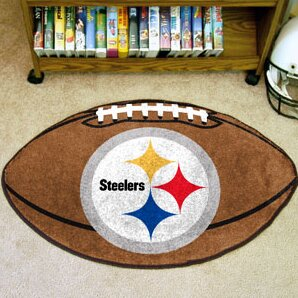 NFL - Pittsburgh Steelers Football Mat by FANMATS