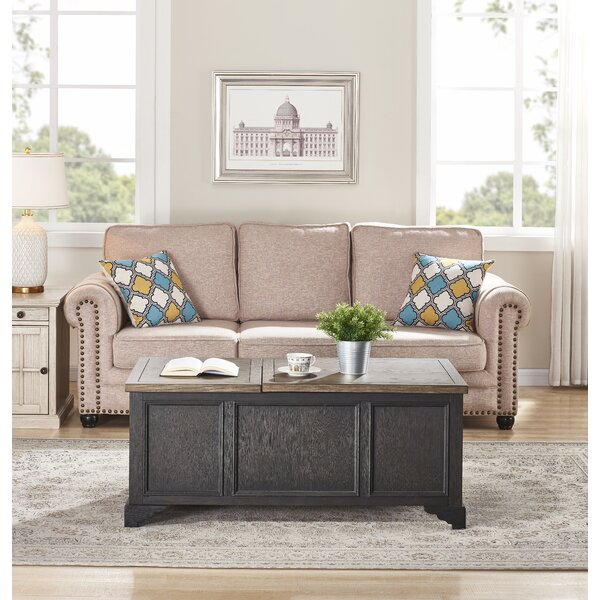 Salazar Lift Top Extendable Coffee Table With Storage By Canora Grey