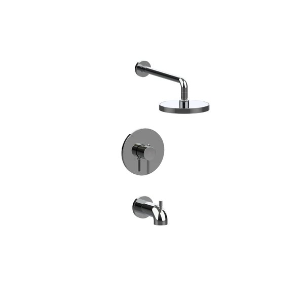 Fresh Pressure Balanced Tub and Shower Faucet with Rough-in Valve by Nikles Nikles