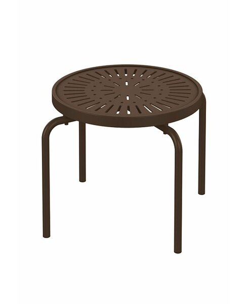 LaStratta Metal Side Table by Tropitone