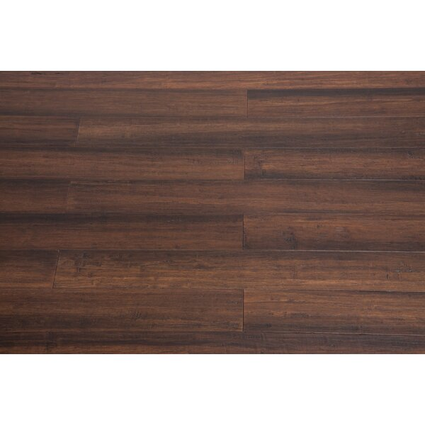 5 Engineered Bamboo  Flooring in Clove by Bamboo Hardwoods