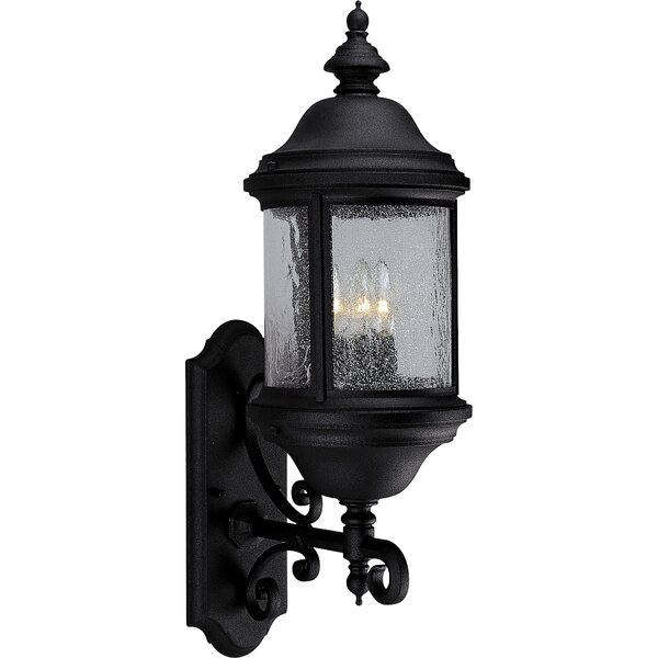 Drumakeely 3-Light Outdoor Wall Lantern by Alcott Hill