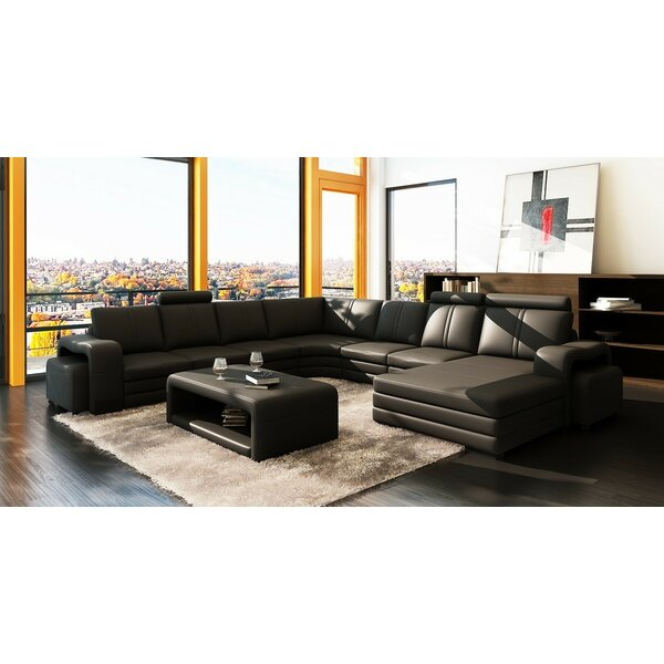 Waugh Sectional with Ottoman by Wade Logan