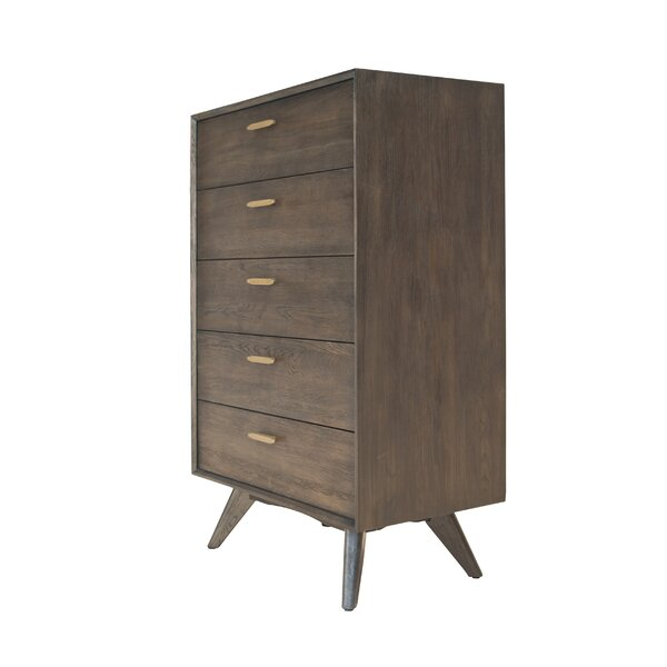Lise 5 Drawer Standard Chest by Corrigan Studio