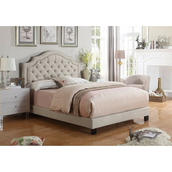 Swanley Upholstered Standard Bed by Andover Mills Andover Mills