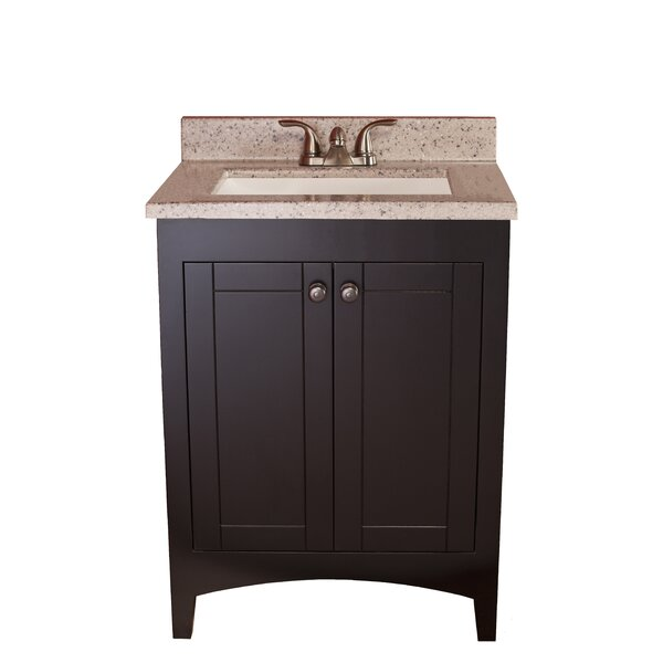 Wave 25 Bathroom Single Vanity Set by Harbor City Supply