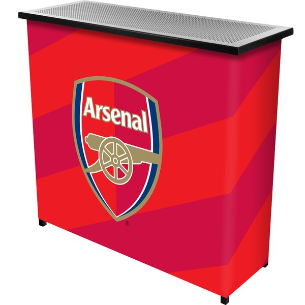 Premier League Team Portable Home Bar by Trademark Global