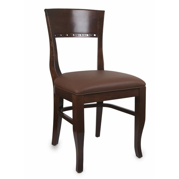 Tymon Dining Chair in Faux Leather (Set of 2) by Darby Home Co