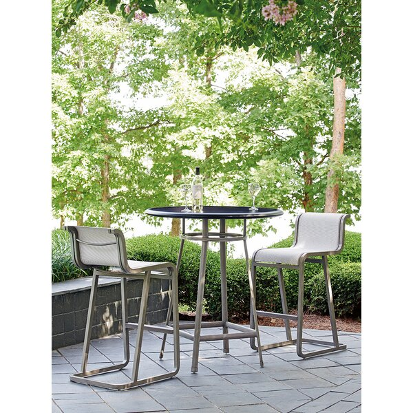 Del Mar 3 Piece Bar Height Dining Set by Tommy Bahama Home