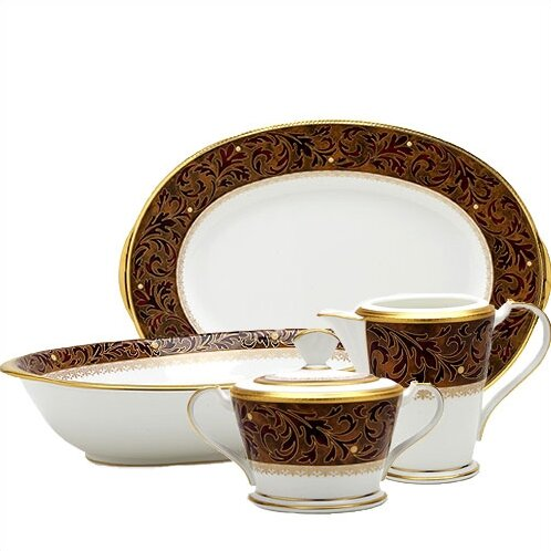 Xavier Gold 5 Piece Completer Set by Noritake