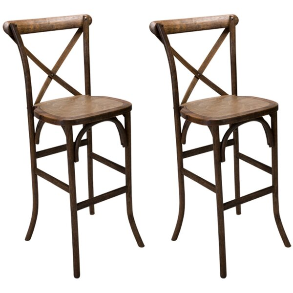 Dunamoy 29 Bar Stool (Set of 2) by Gracie Oaks
