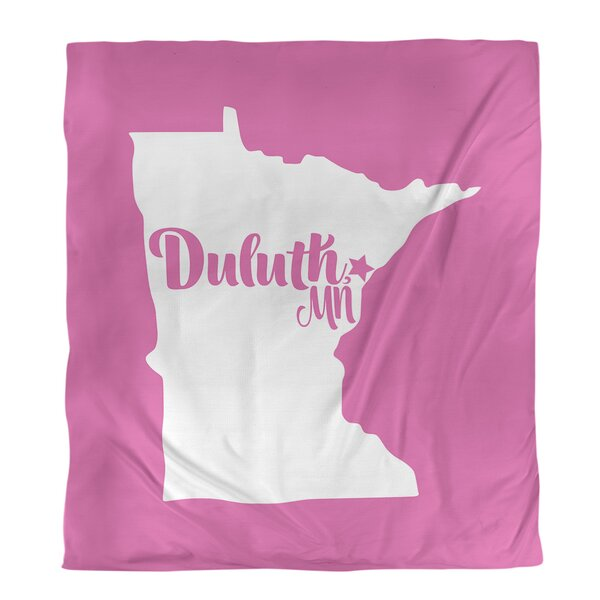 Duluth Minnesota Duvet Cover Set