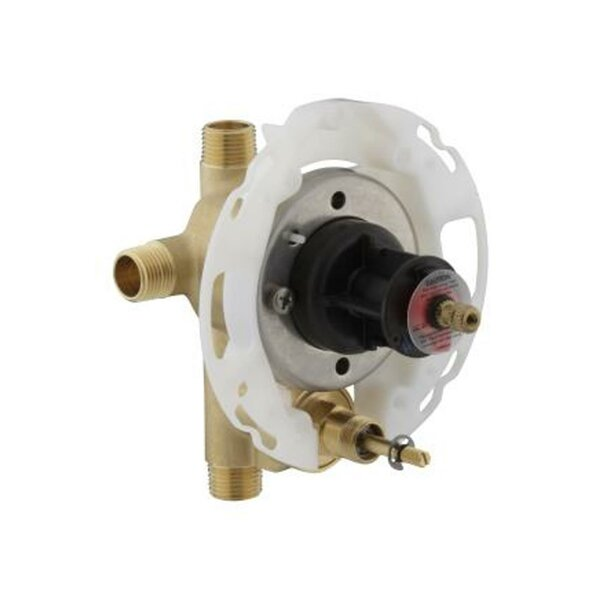 Rite-Temp 1/2 Pressure-Balancing Valve with Push-B