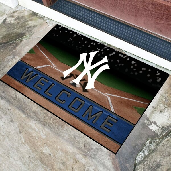 MLB Rubber Doormat by FANMATS