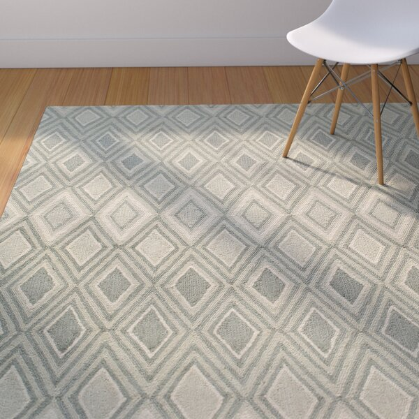 Weise Gray Area Rug by George Oliver