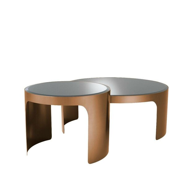 Read Reviews Piemonte Sled 2 Nesting Tables