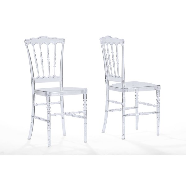 Crystal Side Chair (Set of 2) by Wholesale Interiors