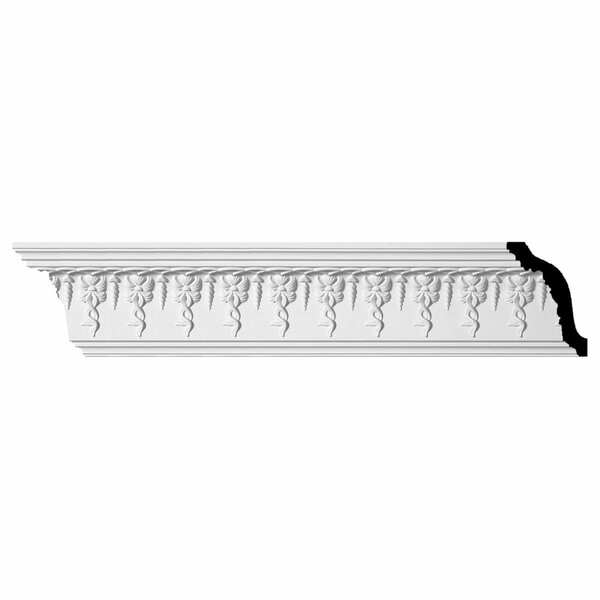 Scott 5H x 94 3/8W x 3 7/8D Crown Moulding by Ekena Millwork