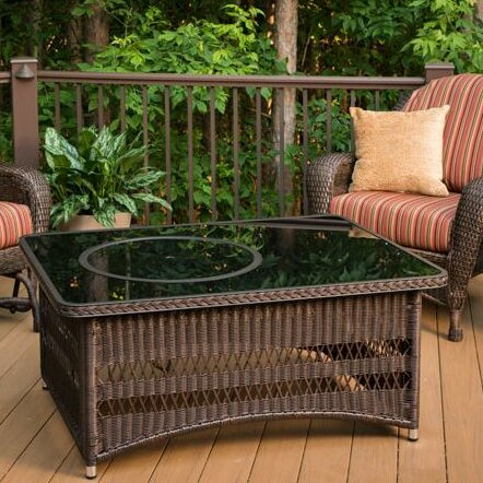 Laforce Coffee Table with Fire Pit Table by Bayou Breeze