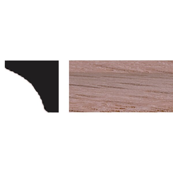 3/8 in. x 3/8 in. x 4 ft. Red Oak Cove Moulding by Manor House