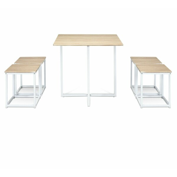 Jesenof 5 Piece Dining Set by Ebern Designs Ebern Designs