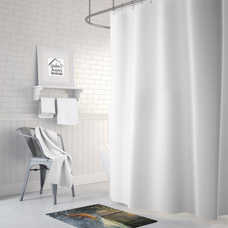East Urban Home Fox On The Hunt Rectangle Microfiber Non Slip Bath Rug Wayfair Ca