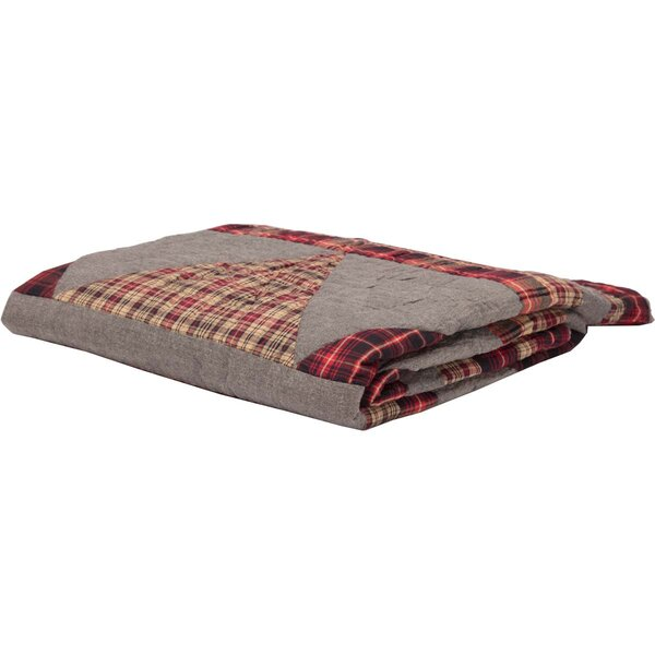 Nettleton Snyder Holiday Decor Quilted Cotton Throw by Loon Peak