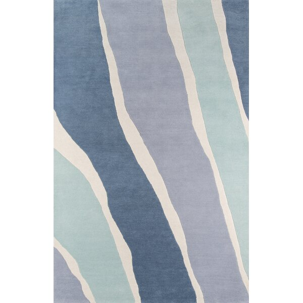 Sorbet Hand-Tufted Blue Area Rug by Novogratz
