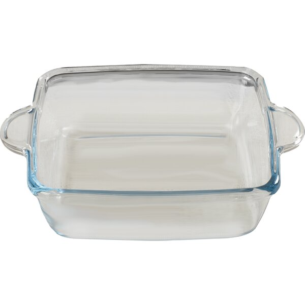 Borcam Square 2qt. Roaster by Circle Glass