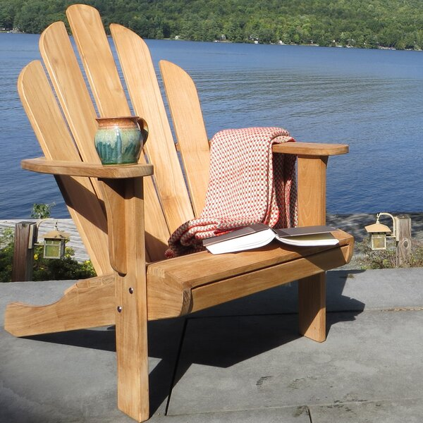 Teak Adirondack Chair by CO9 Design
