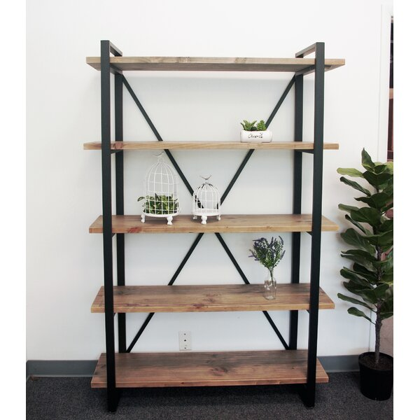Padron Style 5-Tier Shelf Etagere Bookcase by Gracie Oaks