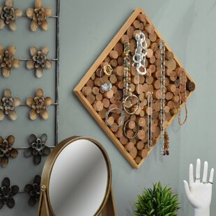 Inexpensive Wall Mounted Jewelry Holder ByFoundry Select