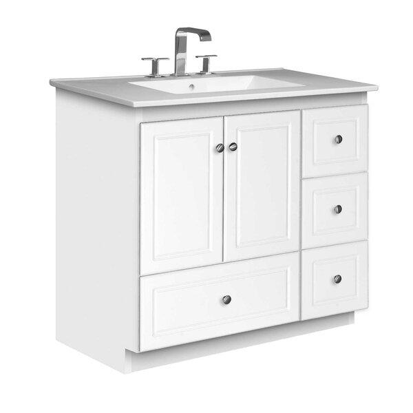 Simplicity 37 Single Bathroom Vanity Set by Strasser Woodenworks