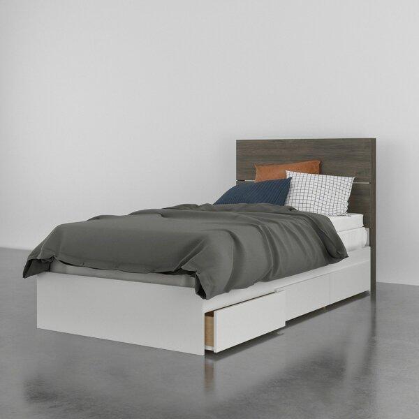 Oyku Storage Platform Bed by Ebern Designs