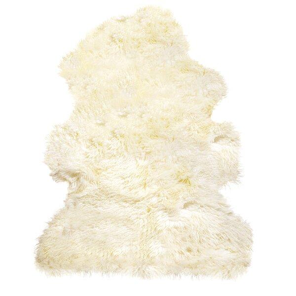 Handmade Natural Sheepskin Area Rug by Natural Rugs