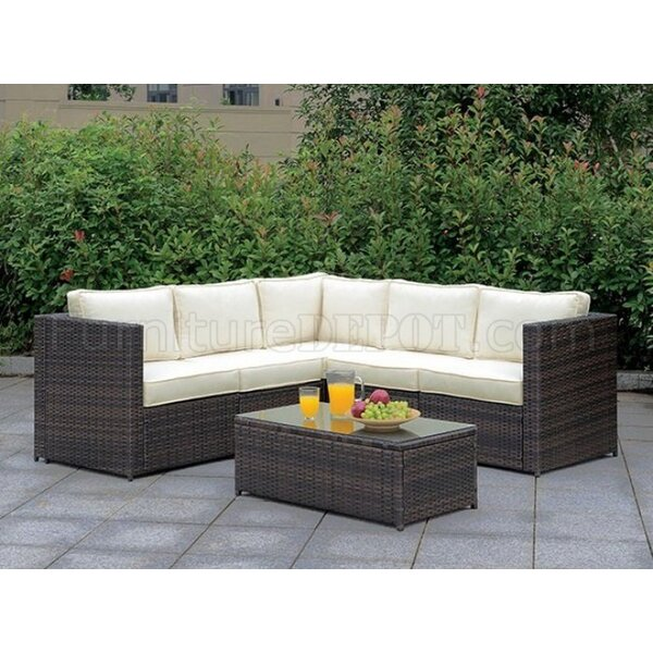 Mccleery 2 Piece Sectional Seating Group with Cushions