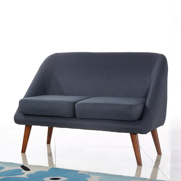Spratt Modern Style Loveseat by Langley Street