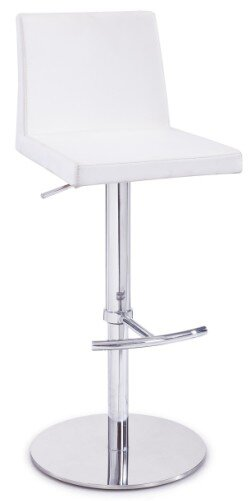Clower Adjustable Height Swivel Bar Stool by Orren Ellis