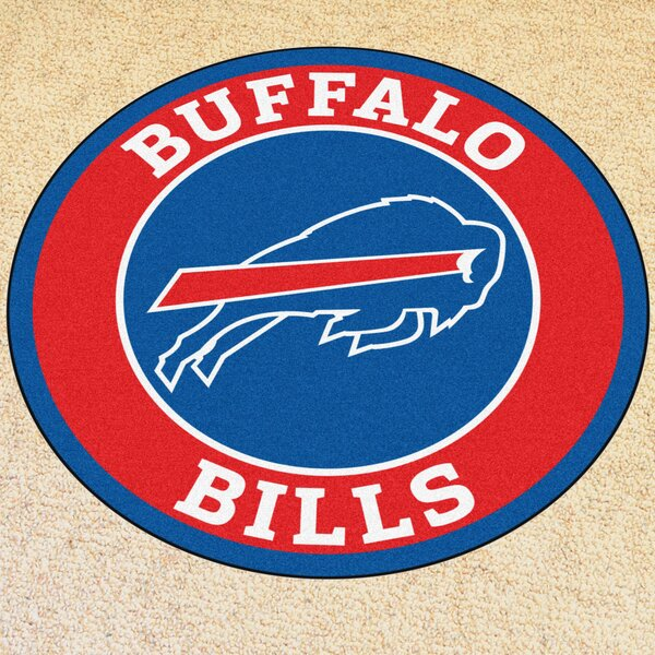 NFL Buffalo Bills Roundel Mat by FANMATS