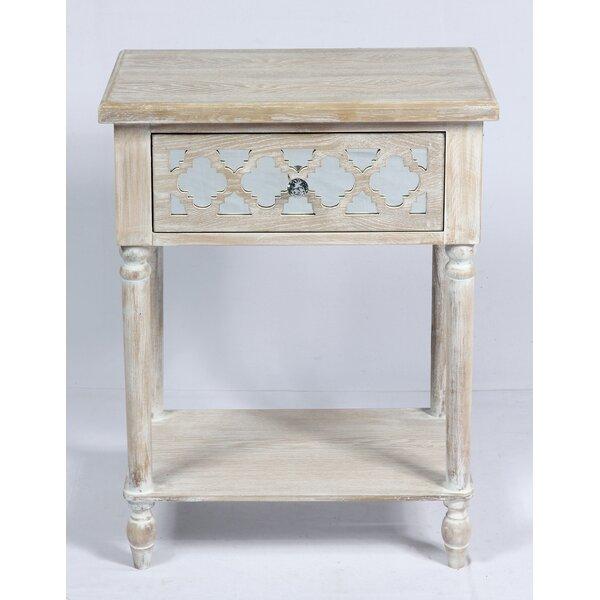 Amanda End Table by Ophelia & Co.