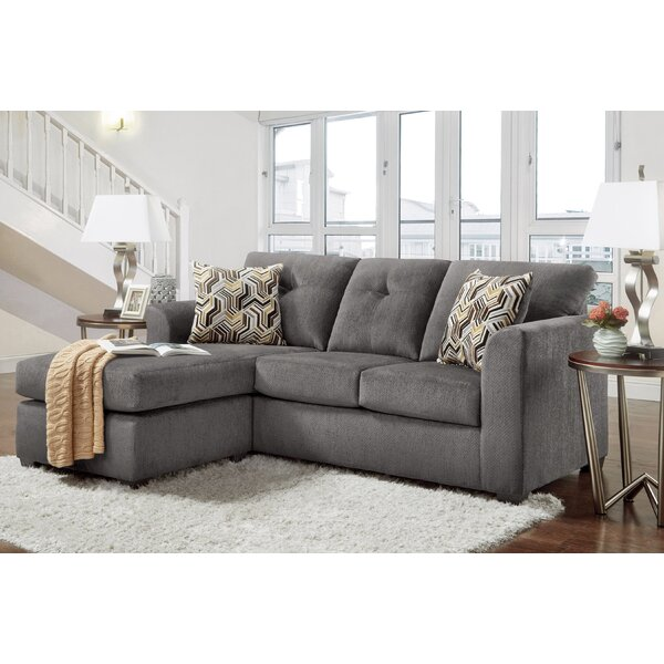 Debrah Left Hand Facing Sectional By Ebern Designs