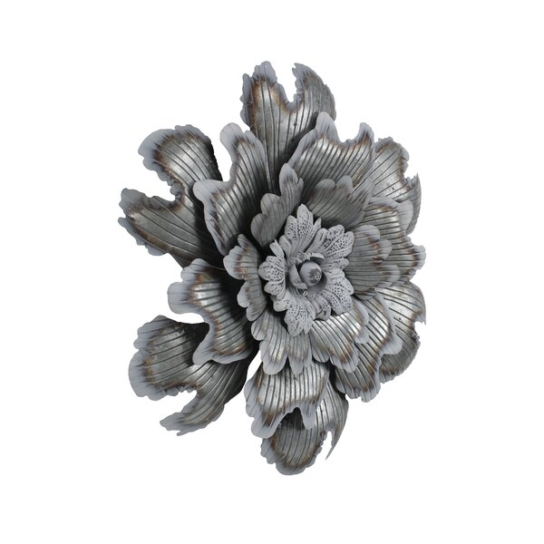 Galvanized Flower Wall Décor by Ophelia & Co.